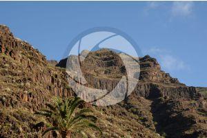 Basalt. La Gomera. Canary Islands. Spain