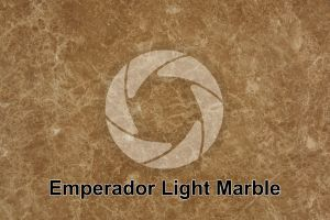 Emperador Light Marble. Valencia. Spain. Polished section