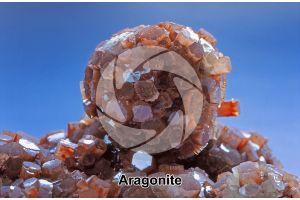 Aragonite. Marocco