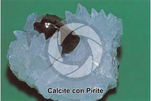 Calcite con Pirite
