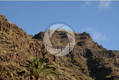 Basalt. La Gomera. Canary Islands. Spain