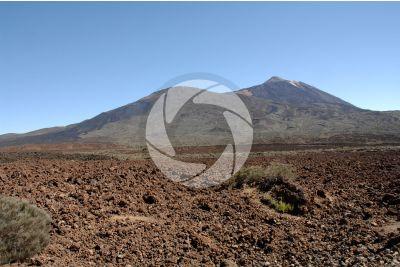 Lava scoriacea. Teide. Tenerife. Isole Canarie. Spagna
