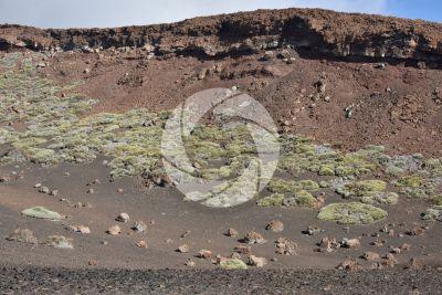 Lava scoriacea. Tenerife. Isole Canarie. Spagna