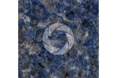 Azul Bahia Granite. Bahia. Brazil. Polished section. 1X