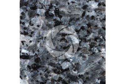 Labrador Blue Pearl GT Granite. Larvik. Norway. Polished section. 1X