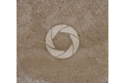 Classic Travertine. Lazio. Italy. Polished section. 1X