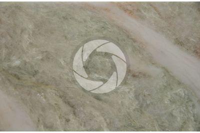 Alba Chiara Marble. India. Polished section