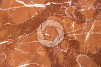 Rosso Toscana Marble. Italy. Polished section