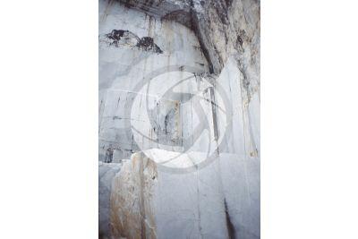 Marble. Quarry. Carrara. Tuscany. Italy