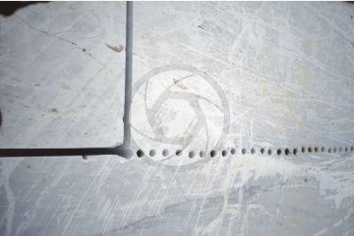 Bianco Carrara Marble. Carrara. Tuscany. Italy. Stone cutting