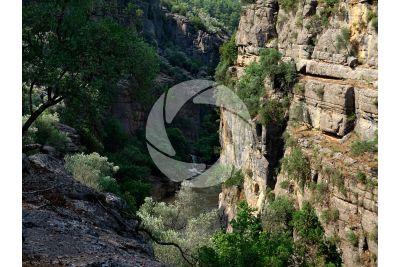 Gola. Koprulu Canyon. Antalya. Turchia