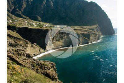 Cliff. Pollara. Aeolian Islands. Sicily. Italy