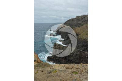 Cliff. Gran Canaria. Canary Islands. Spain