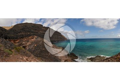 Falesia. Lanzarote. Isole Canarie. Spagna