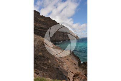 Cliff. Lanzarote. Canary Islands. Spain
