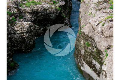 Karst erosion. Albania