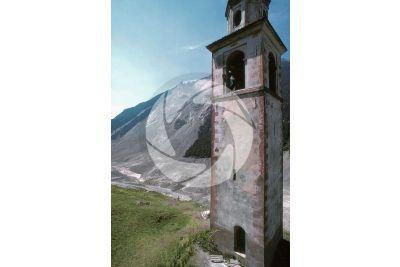 Frana. Valtellina. Lombardia. Italia