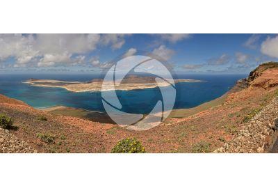 La Graciosa. Lanzarote. Isole Canarie. Spagna