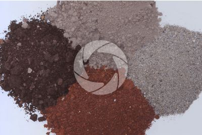 Humus chalky clay sandy soil