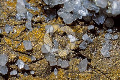 Marcasite with Calcite