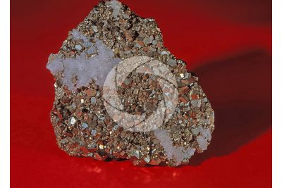 Pyrite with Quartz