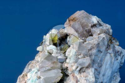 Lepidolite with Tourmaline and Quartz