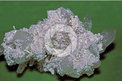 Laumontite with Quartz