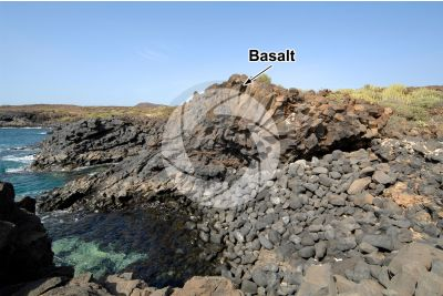 Basalt. Tenerife. Canary Islands. Spain
