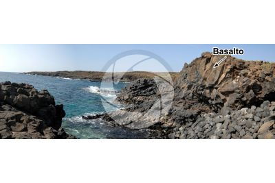 Basalto. Tenerife. Isole Canarie. Spagna