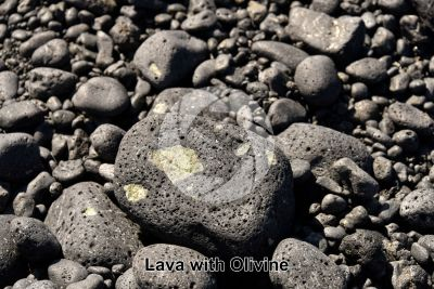 Lava with Olivine