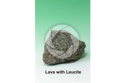 Lava with Leucite. Mount Vesuvius. Campania. Italy