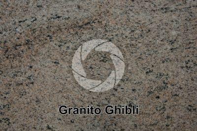 Granito Ghibli. Tamil Nadu. India. Sezione lucida