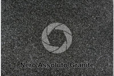 Nero Assoluto Granite. Zimbabwe. Polished section