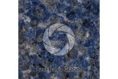 Azul Bahia Granite. Bahia. Brazil. Polished section. 1X
