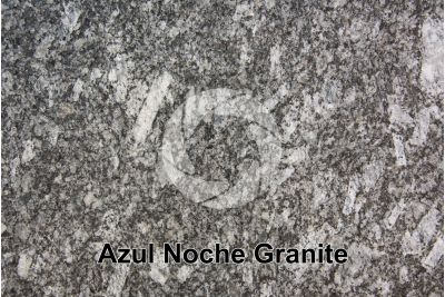 Azul Noche Granite. Spain. Polished section
