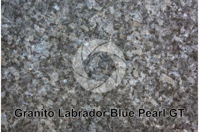 Granito Labrador Blue Pearl GT. Larvik. Norvegia. Sezione lucida