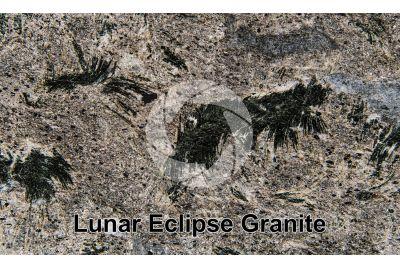 Lunar Eclipse Granite. China. Polished section
