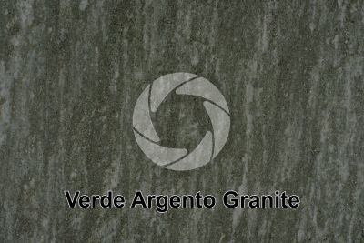Verde Argento Granite. Piedmont. Italy. Polished section