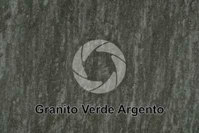 Granito Verde Argento. Piemonte. Italia. Sezione lucida