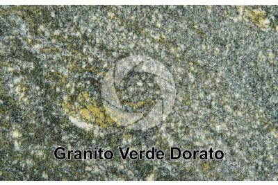 Granito Verde Dorato. Piemonte. Italia. Sezione lucida