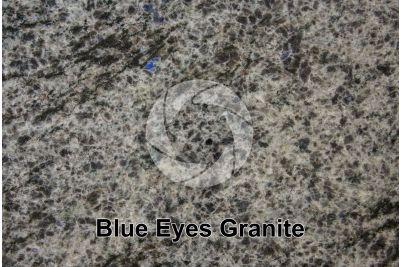 Blue Eyes Granite. Labrador. Canada. Polished section