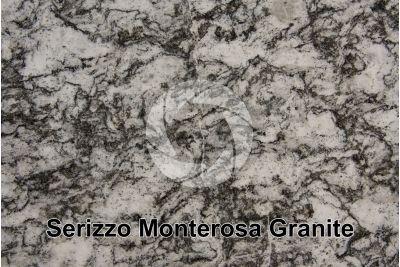 Serizzo Monterosa Granite. Piedmont. Italy. Polished section