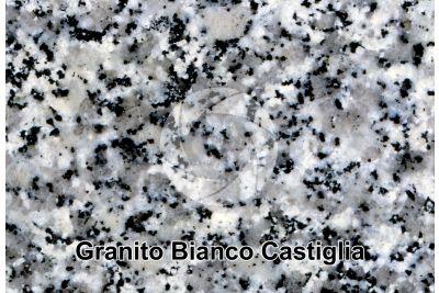Granito Bianco Castiglia. Spagna. Sezione lucida. 2X