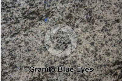 Granito Blue Eyes. Labrador. Canada. Sezione lucida