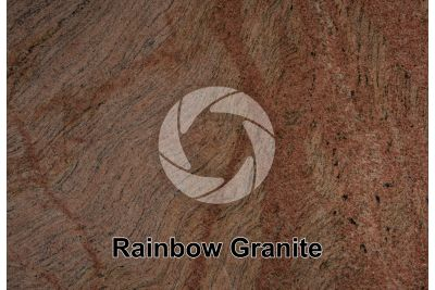 Rainbow Granite. Quebec. Canada. Polished section