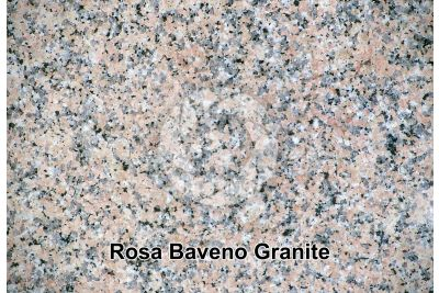 Rosa Baveno Granite. Piedmont. Italy. Polished section