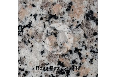 Rosa Beta Granite. Mount Limbara. Sardinia. Italy. Polished section. 1X