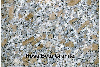 Rosa Beta Granite. Mount Limbara. Sardinia. Italy. Polished section. 2X