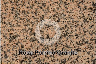 Rosa Porrino Granite. Porrino. Galicia. Spain. Polished section