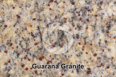 Guarana Granite. Brazil. Polished section. 2X